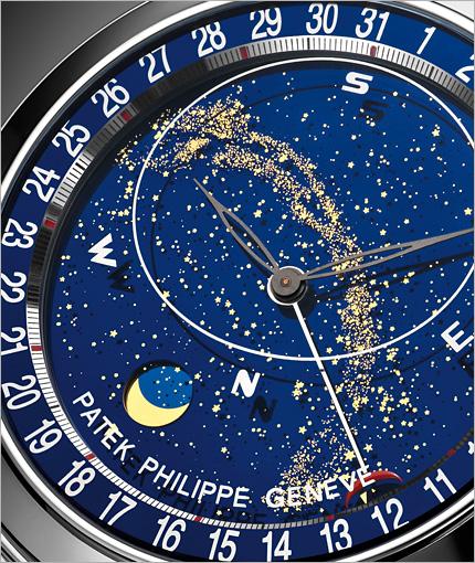 moonsky_璀璨星空 百达翡丽 sky moon 6102p 腕表